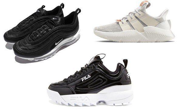 FILA DISRUPTOR II 復古運動鞋黑武士版 NT2,480、Nike...