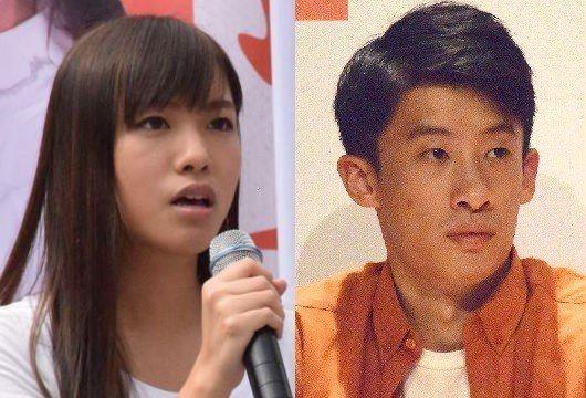 本土派游蕙禎(左)和梁頌恆(右)一度躋身議會,但隨即因「宣誓風波」被褫奪議席。 ...
