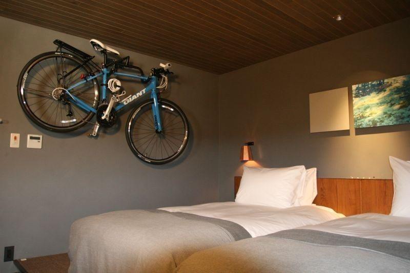 ▲房內也可以掛單車。 (photo by 達叔)