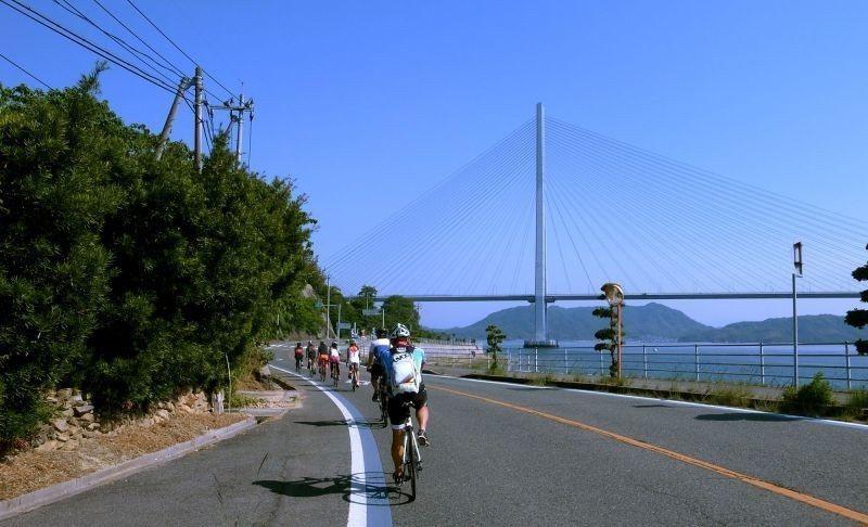 ▲美麗的斜張橋結構,曾是世界第一。 (photo by 達叔)
