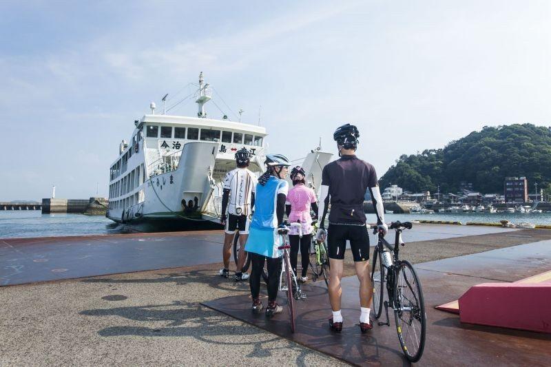 ▲岡村港是進出飛島海道的門戶之一。 (photo by 達叔)