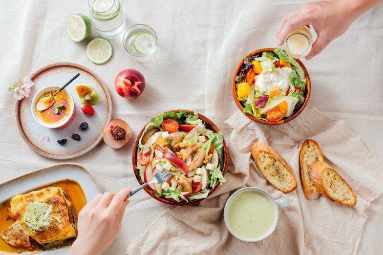 舒果SUFOOD今年夏天一口氣推出12道新菜。圖/王品提供