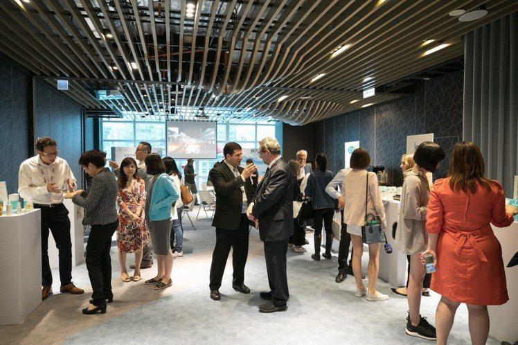 2018以色列美妝特展台北專場開幕媒體發布會。圖/駐台北以色列經濟貿易辦事處提供