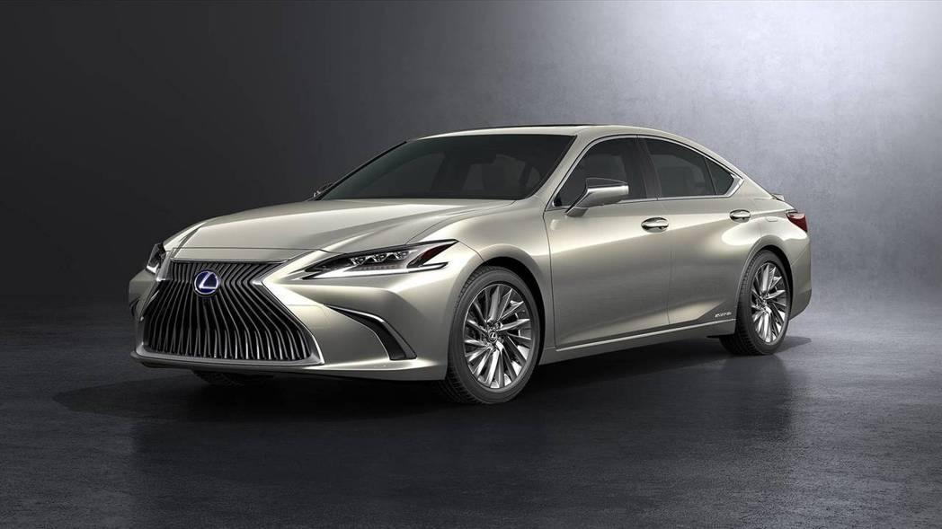 全新第七代Lexus ES一改過去較典雅的風格。 摘自Lexus