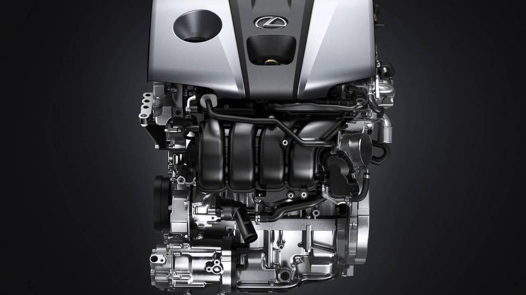 ES 300h 2.5升4缸搭配上新規THS II油電系統。 摘自Lexus