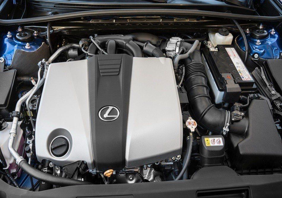 3.5升V6自然進氣引擎,配有D4-S缸內直噴技術。 摘自Lexus