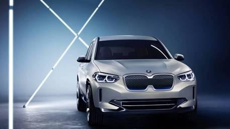 一窺BMW電動車新面孔 Concept iX3現身北京車展