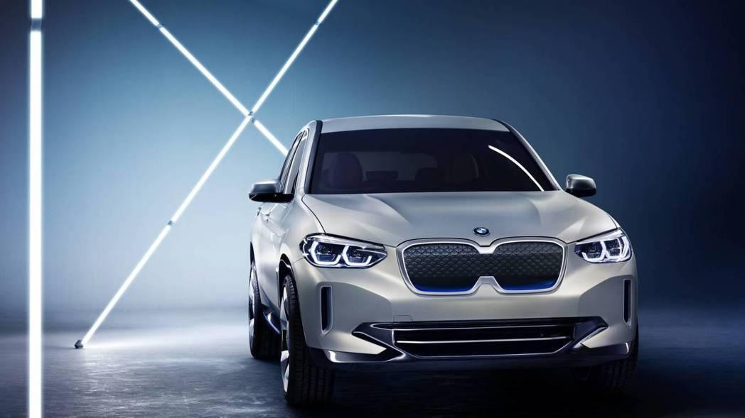BMW Concept iX3搭載全新第五代eDrive電動技術。 摘自BMW