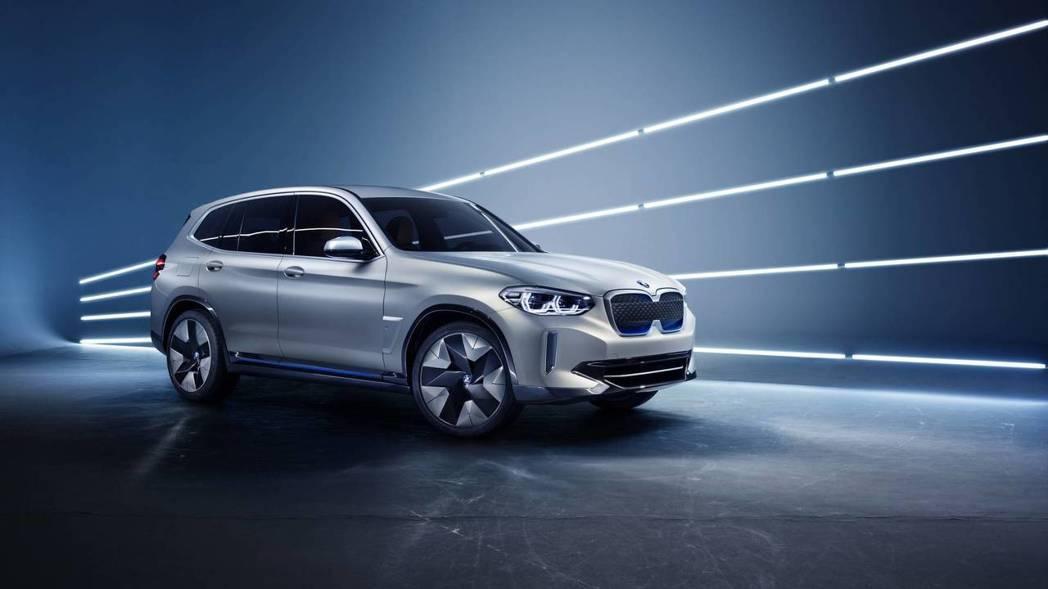 圖為BMW Concept iX3。 摘自BMW