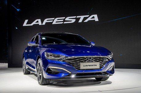 韓國人也無法擁有 Hyundai Lafesta北京驚喜亮相