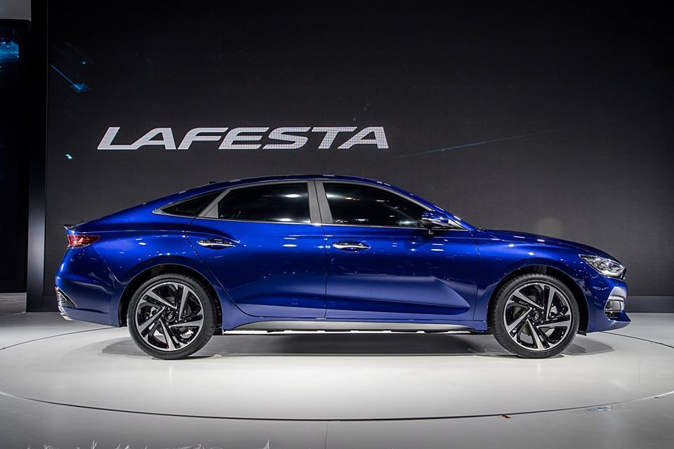 Hyundai Lafesta預計在今年第四季於中國上市,其他地區並不會引進。 摘自Hyundai