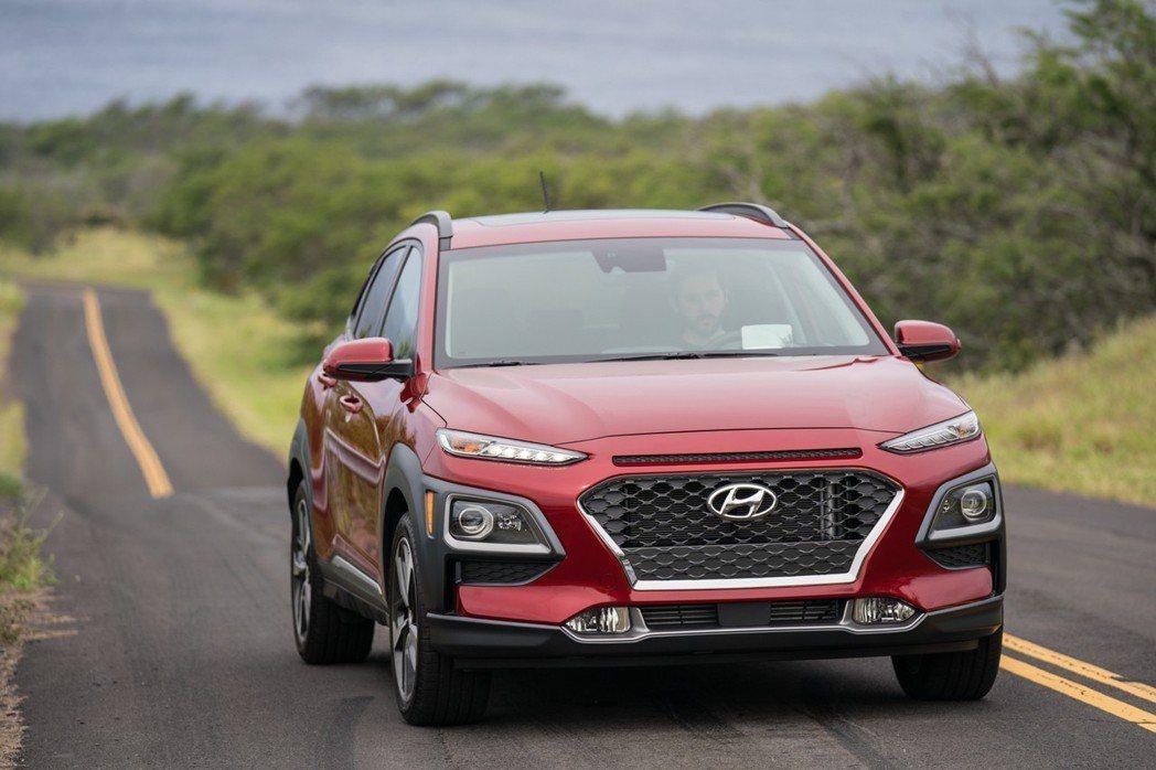 圖為Hyundai Kona,台灣也預計在今年第三季已進口方式導入。 摘自Hyundai