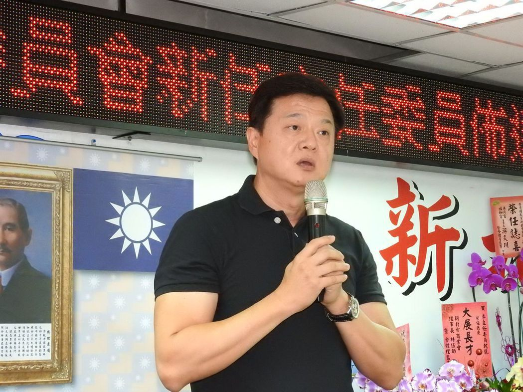 周錫瑋在新北市長初選失利,但即將展開全台輔選。 圖/聯合報系資料照片