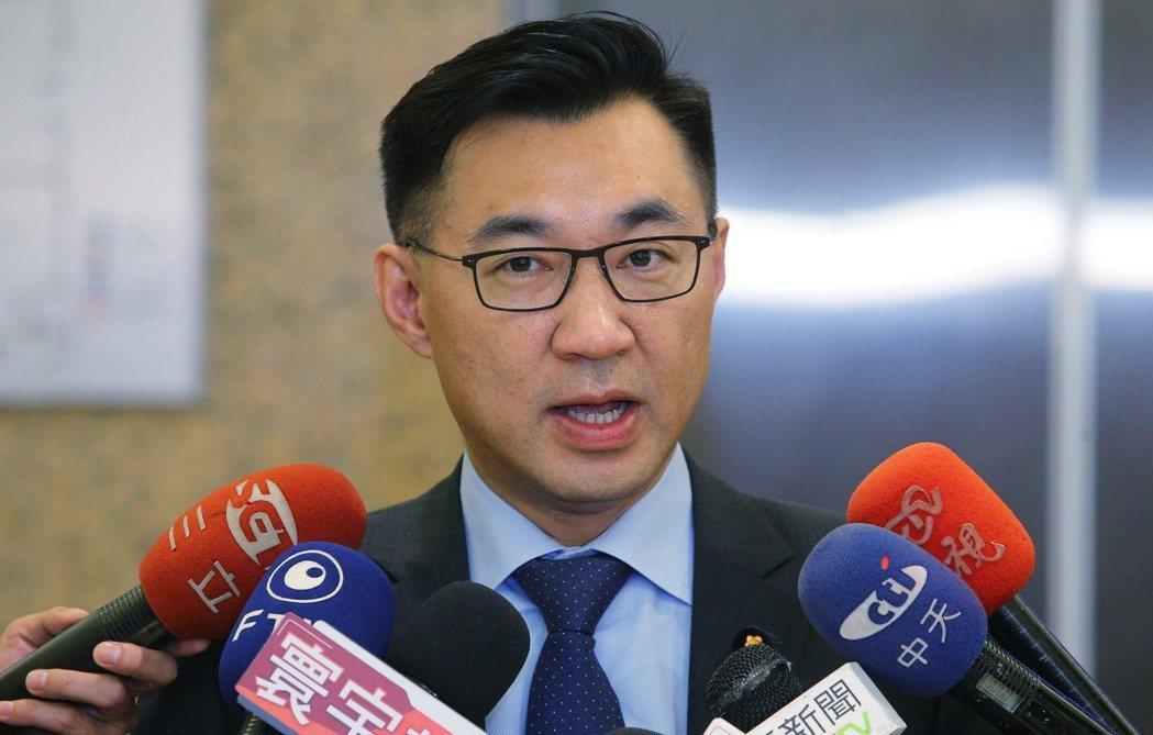 立委江啟臣,台中市長初選落敗但人氣不減反增。 圖/聯合報系資料照片