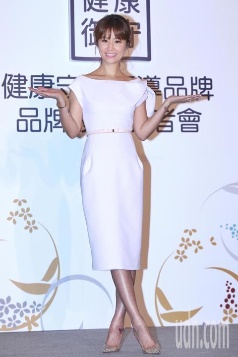 藝人林心如下午出席NISSEI日本精密活動,發表擔任2018年度品牌守護大使,並分享商品的精密技術與貼心設計。