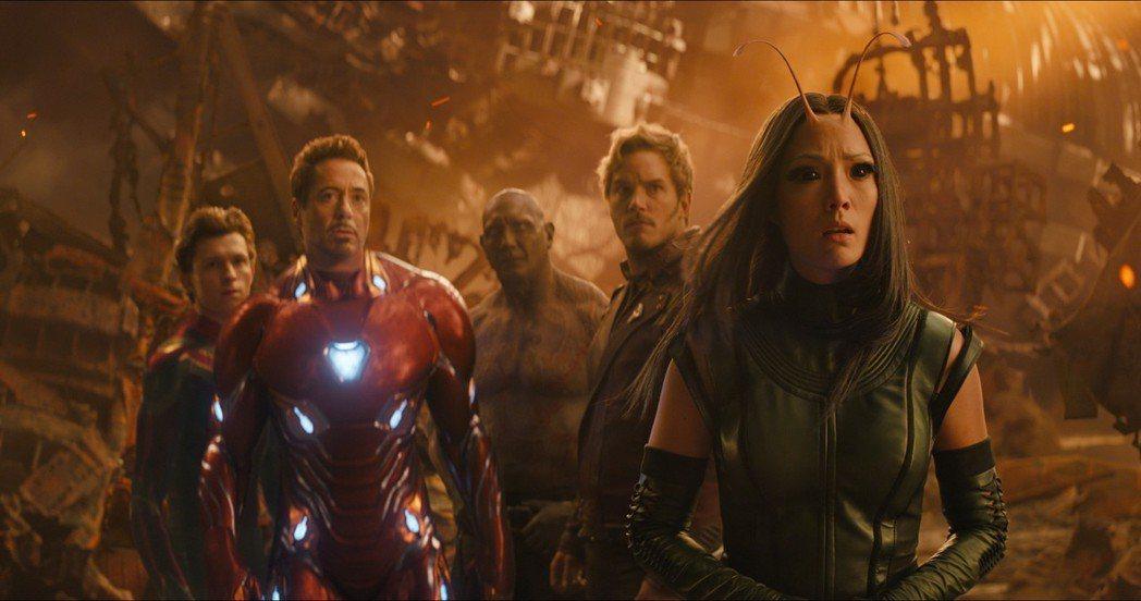 「復仇者聯盟: 無限之戰」刷新漫威影片在台開片記錄,全台首日5260萬元。圖/迪
