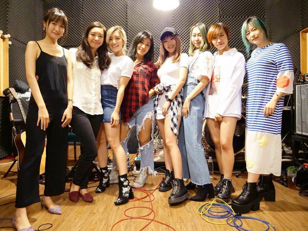 「女力爆發Girl Power」演唱會進入最後倒數。圖/海音國際、妹妹娃娃多媒體