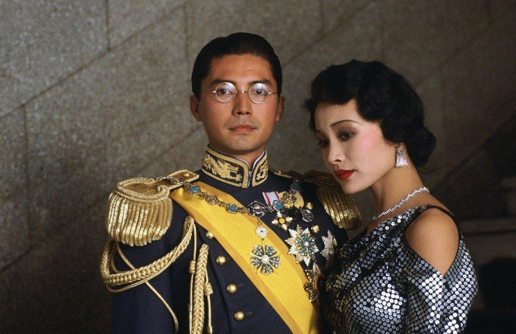 尊龍與陳沖因「末代皇帝」成為國際紅星。圖/台北電影節提供