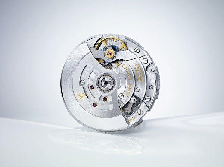 新款Datejust 36搭載3235型恒動機芯。 圖/Rolex 提供
