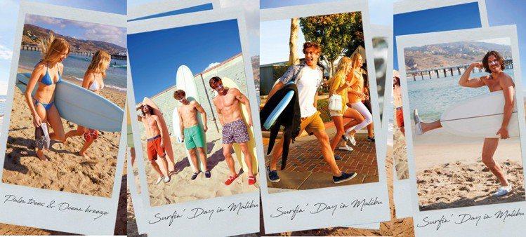 TOD'S Surf系列豆豆鞋散發自由自在的感受,令人忍不住多看好幾眼! 圖/T...