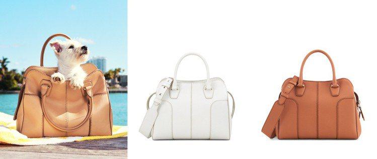 TOD'S Sella Bag以外縫式提把增添靈巧實用性。 圖/TOD'S 提供