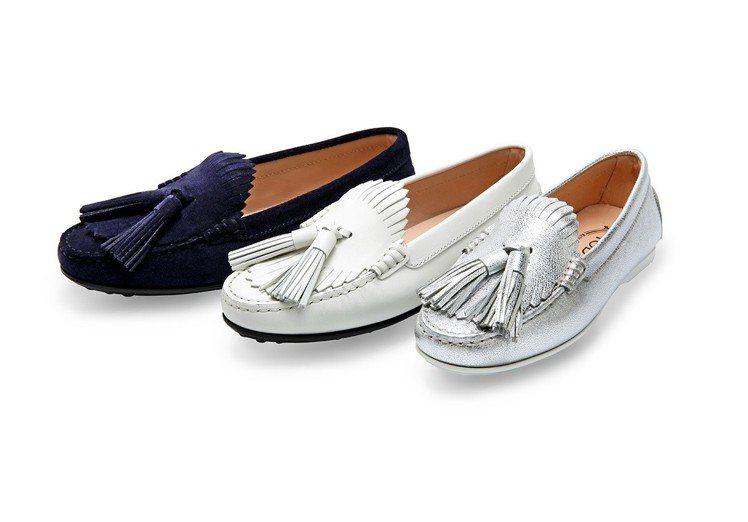 TOD'S膠底豆豆鞋,兼具舒適與時尚。 圖/TOD'S 提供