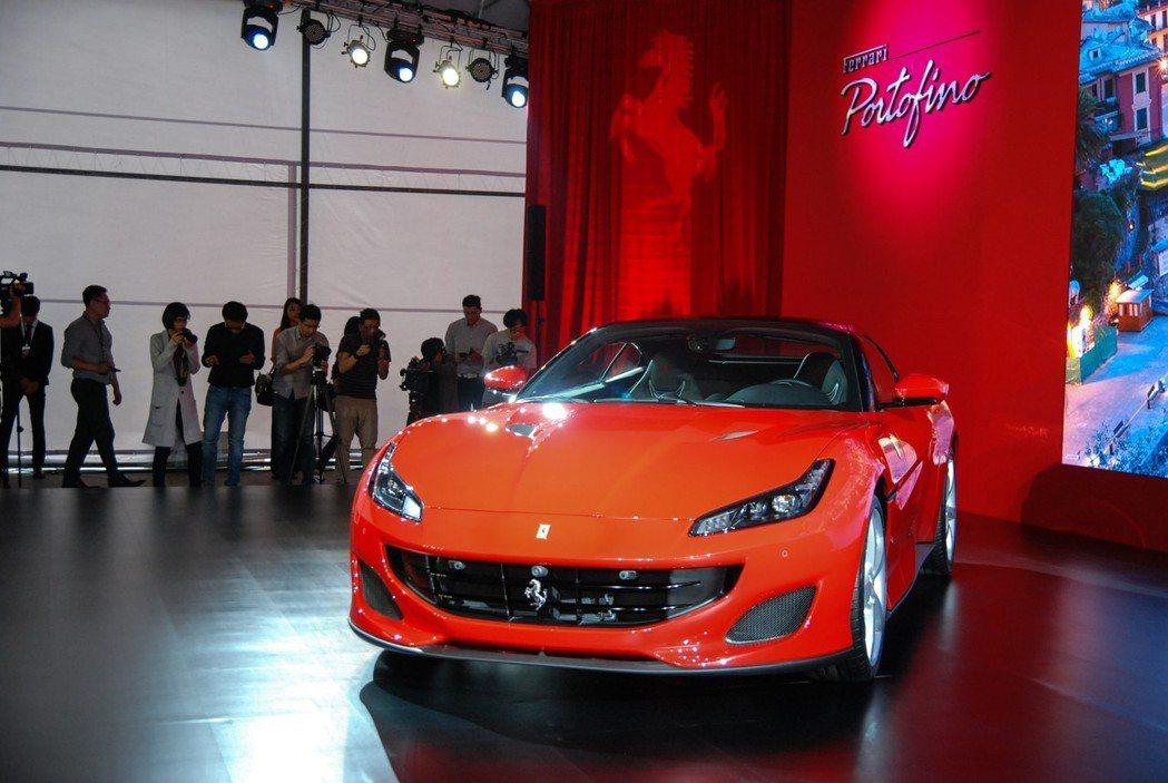 Ferrari Portofino 以義大利優美小鎮命名。 記者林鼎智/攝影
