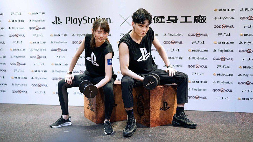 實況主內子宮崎葵(小葵)與偶像團體「SpeXial」成員偉晉到場,和健身教練一起...