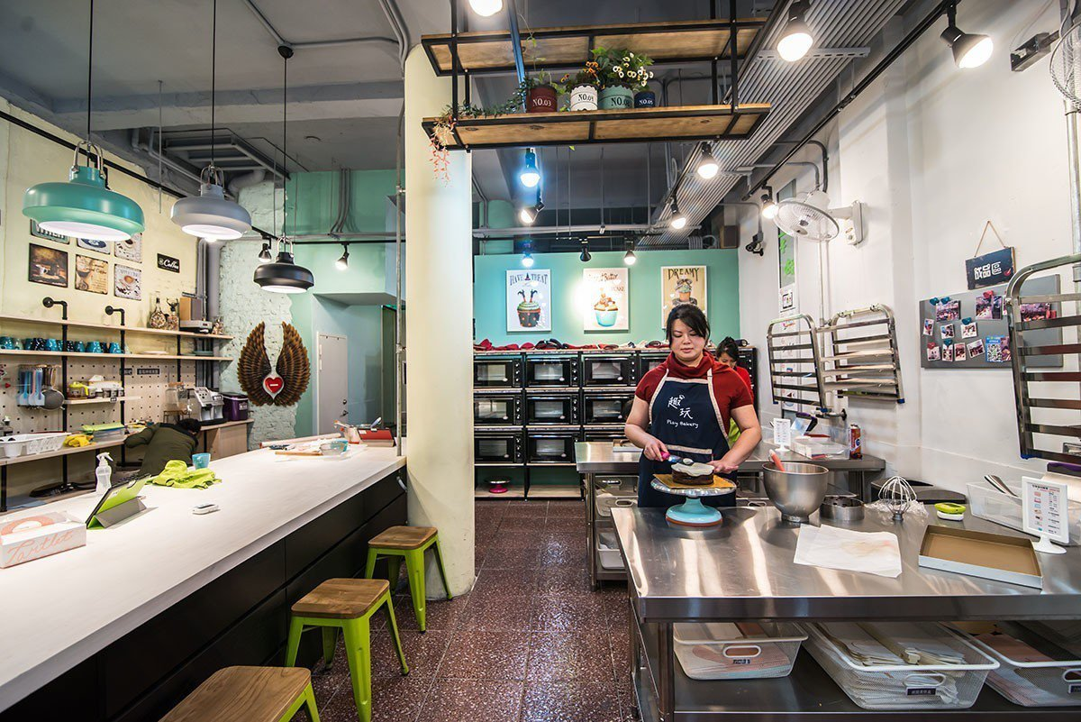 溫馨的大廚房是在趣玩烘焙DIY營造最快樂的場域。