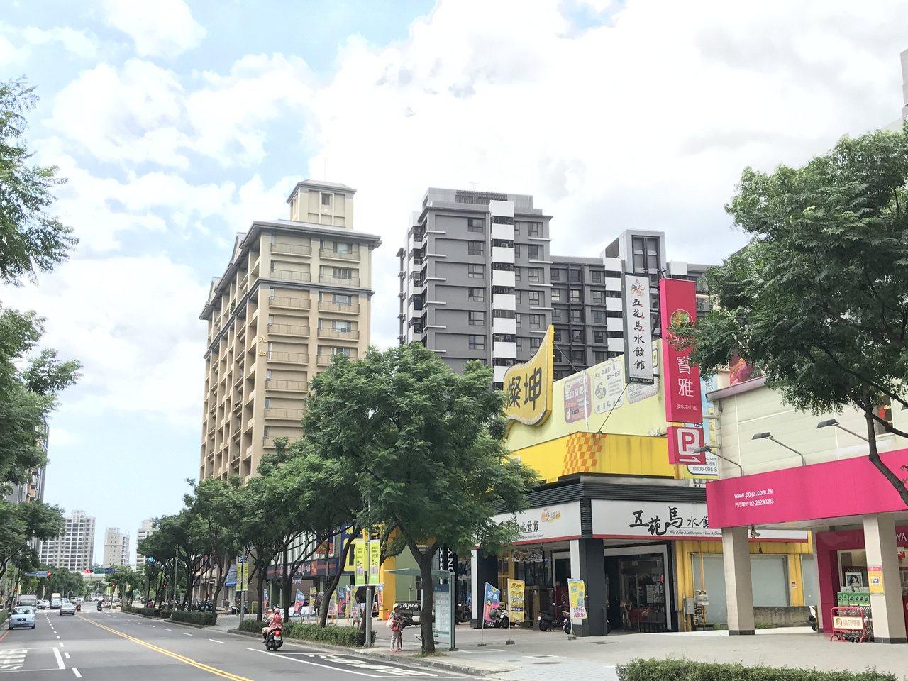 淡海新市鎮。 記者游智文/攝影