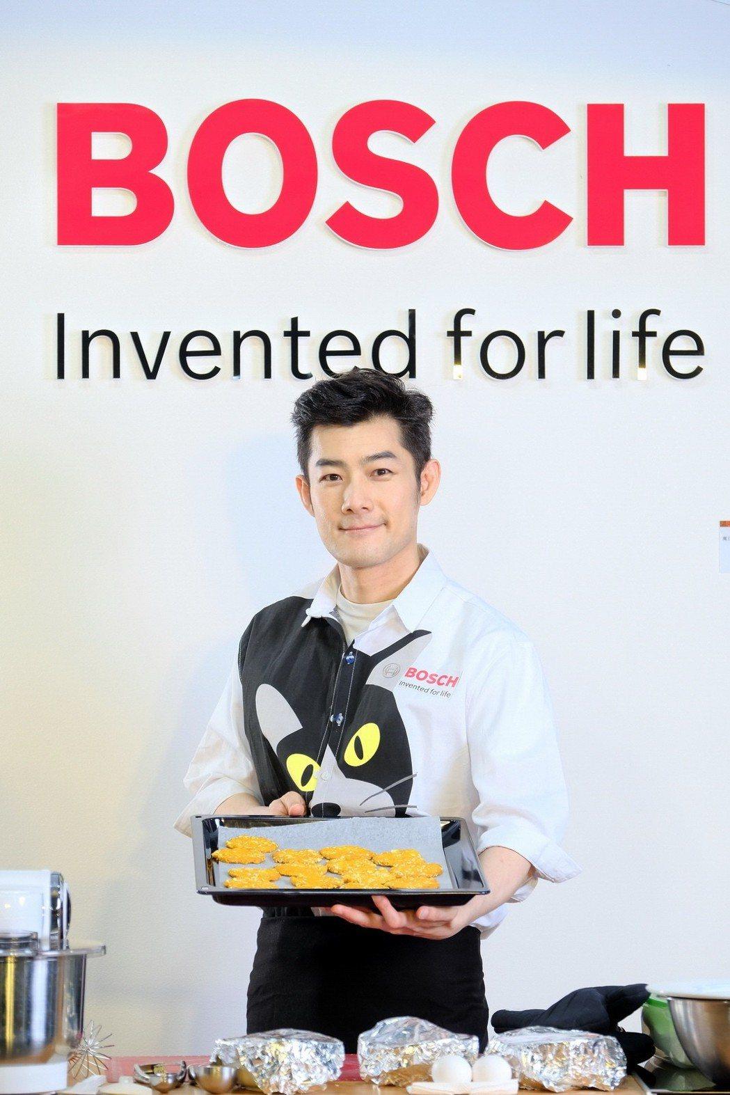 施易男會做甜點,也會做寵物餅乾。圖/Bosch提供