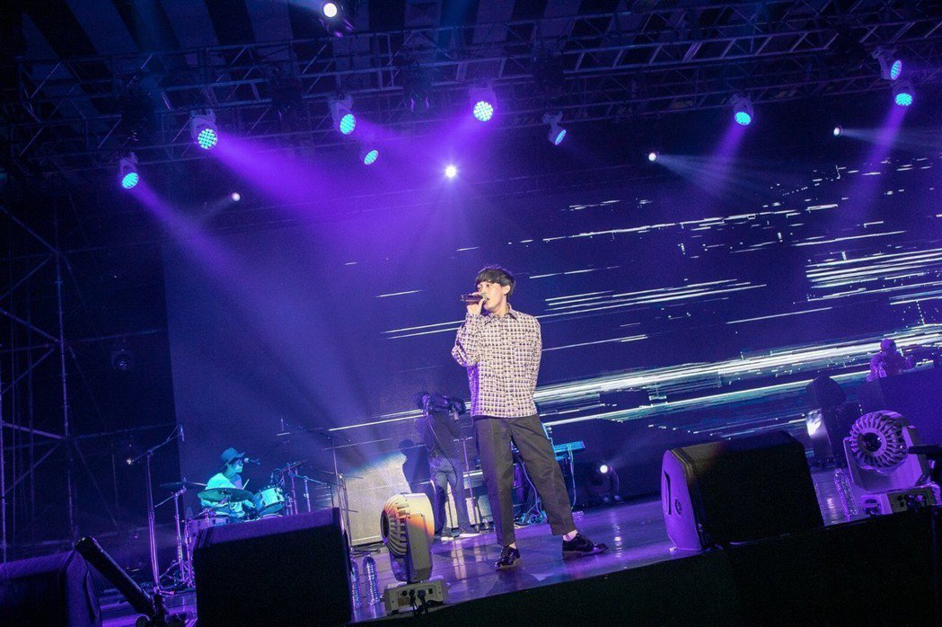 日本創作男子「向井太一」第一次來台北演出。圖/JUSTLIVE 就是現場提供