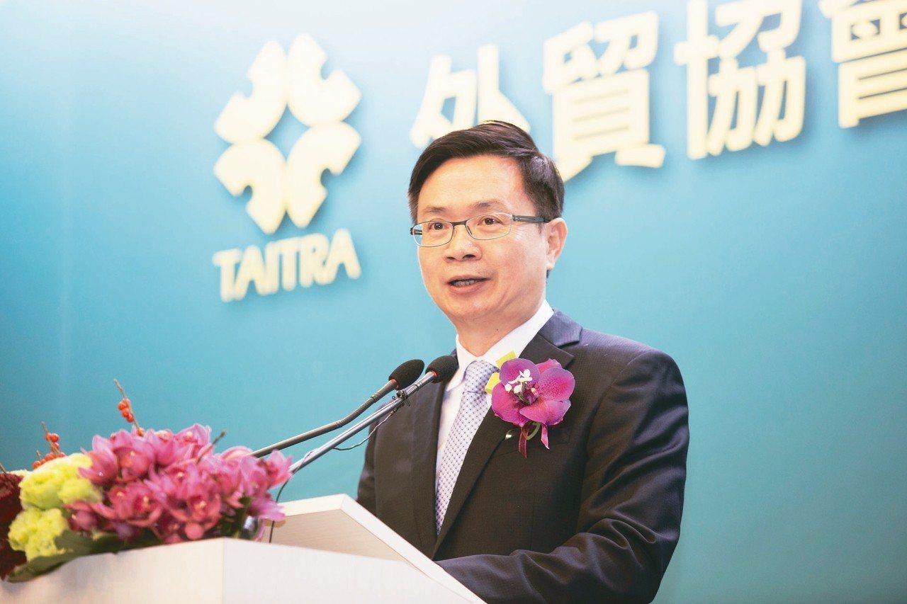 貿協董事長黃志芳曾任新南向政策辦公室統籌者,如今致力和台商一起打拚。(聯合報資料...