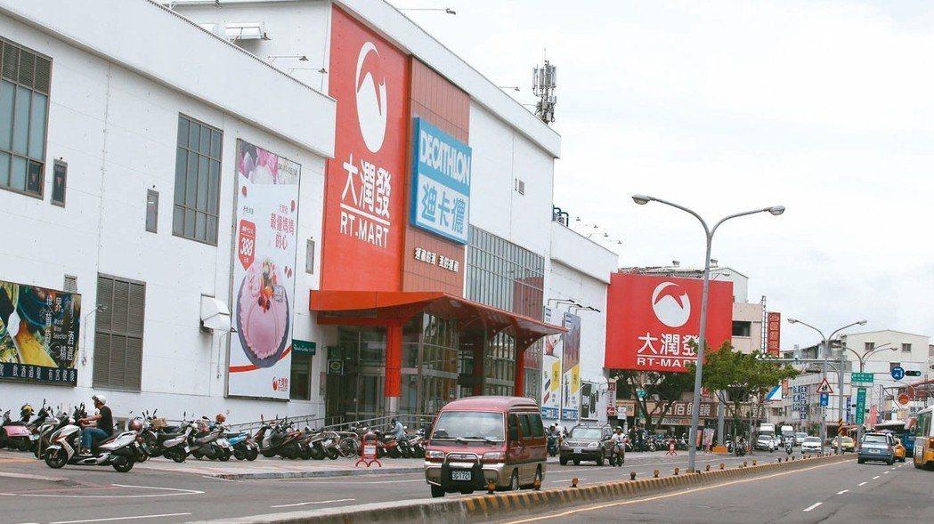 台南北區大潤發商圈附近,生活機能完善。 記者劉學聖/攝影