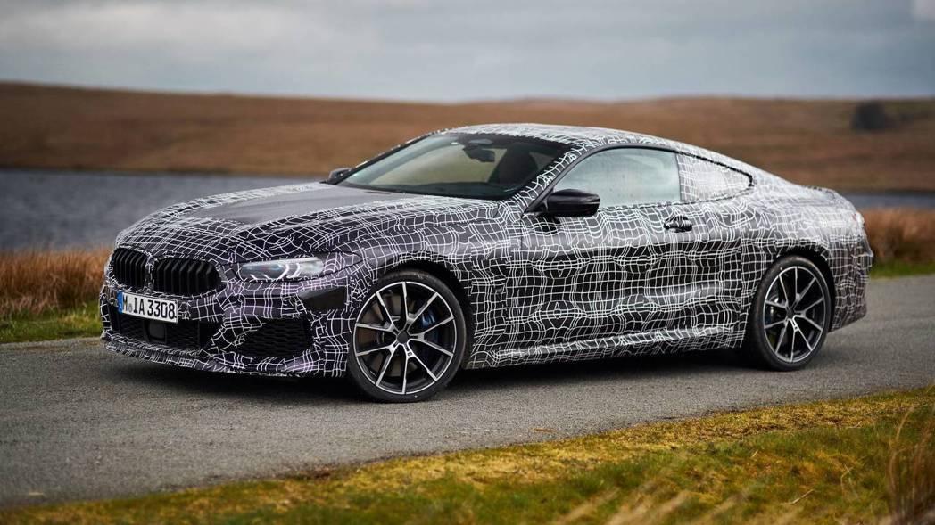 全新BMW 8 Series將有可能在六月中發表。 摘自BMW