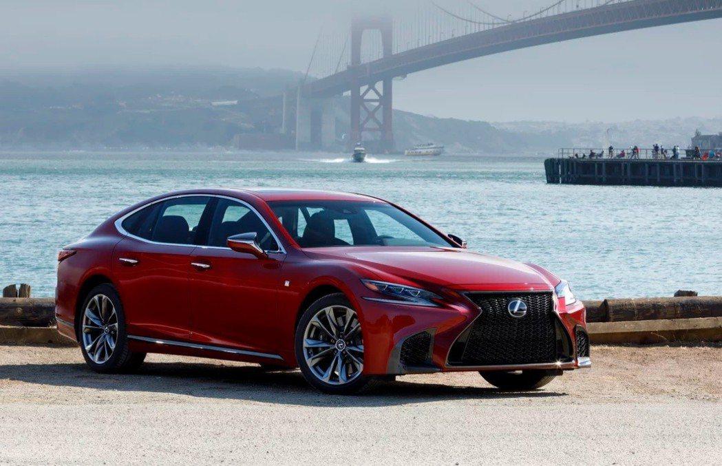 Lexus LS。 摘自Lexus