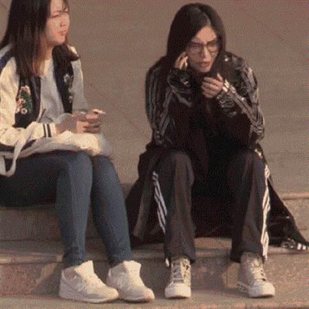 徐冬冬(右)。圖/摘自微博