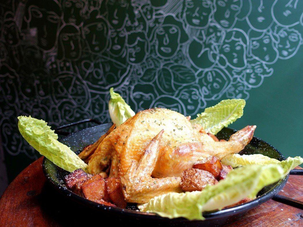 烤雞。記者張芳瑜/攝影