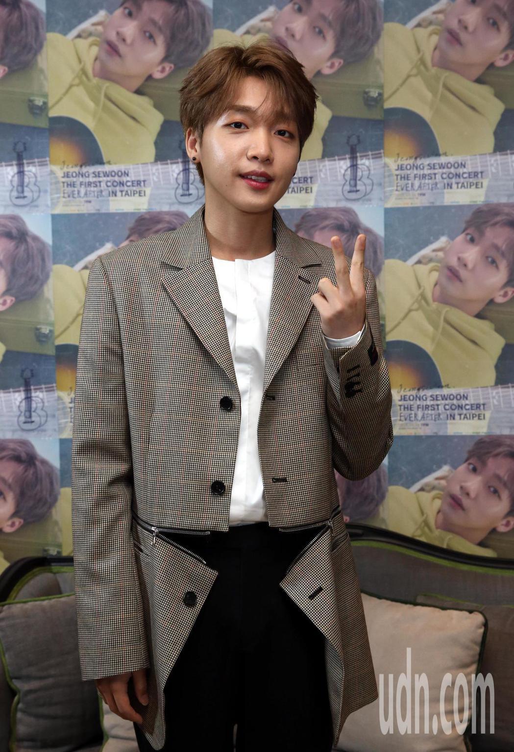 韓星「波妞」鄭世雲二次來台,他將於明晚(29日)七點在台大綜合體育館一樓舉行「J
