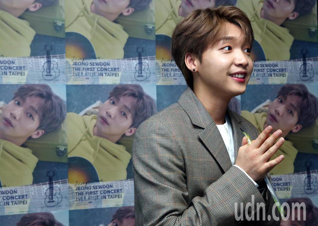韓星「波妞」鄭世雲二次來台,他將於明晚(29日)七點在台大綜合體育館一樓舉行「J...