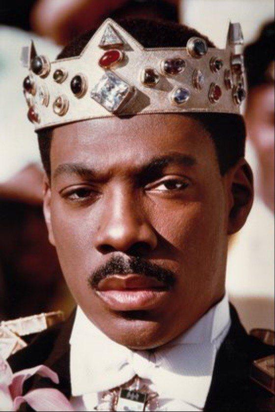 艾迪墨菲扮演非洲王子的「來去美國」,續集籌拍中。圖/摘自imdb