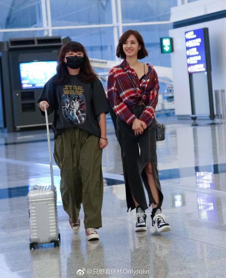 蔡依林出國工作行李卻丟失。圖/摘自臉書