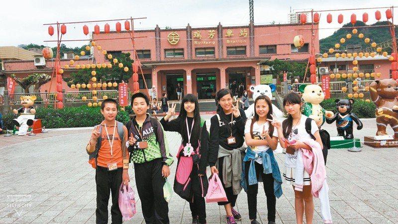 桃園瑞祥國小今年畢業班僅6位同學,校方規畫「低碳畢業輕旅行」。 圖/瑞祥國小提供