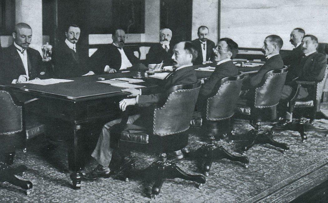 日俄戰爭最終在美國的斡旋下簽訂了朴資茅斯條約。 圖/擷自維基百科