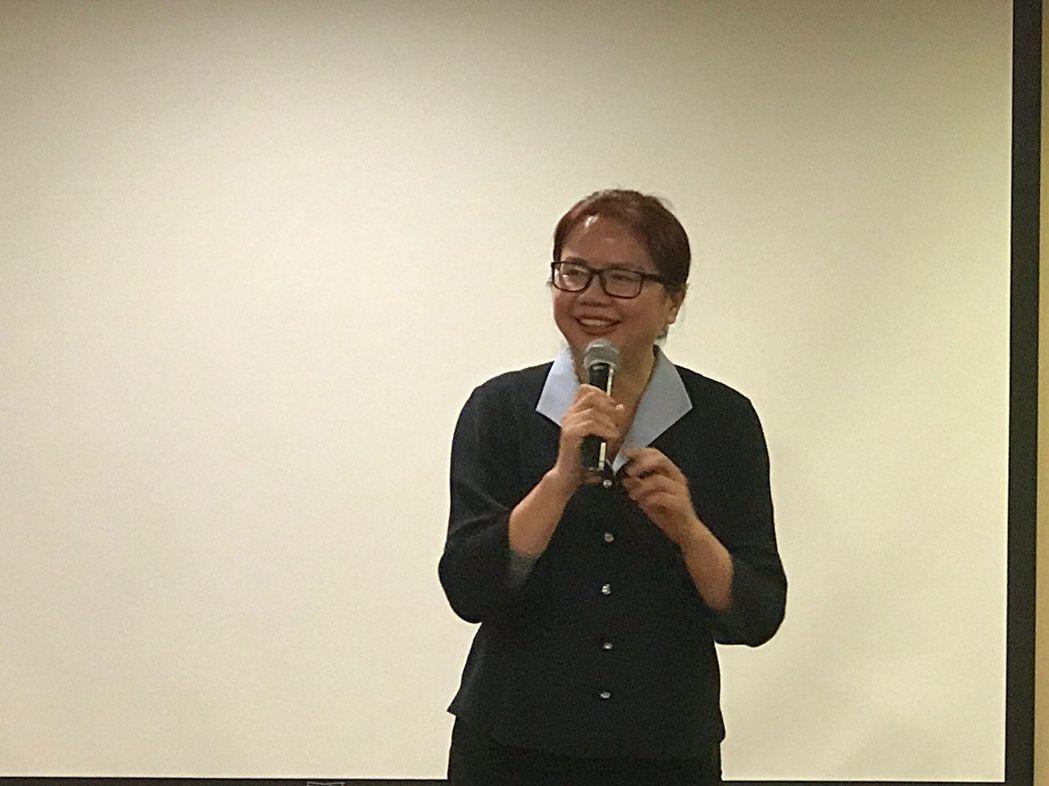 萬寶祿生技董事長林淑惠指出,在三創論壇中可一次富大家的身心靈。項家麟/攝影