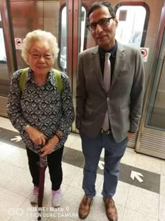 「香港怎變這樣?」籲讓座老人 無線主播遭辱罵