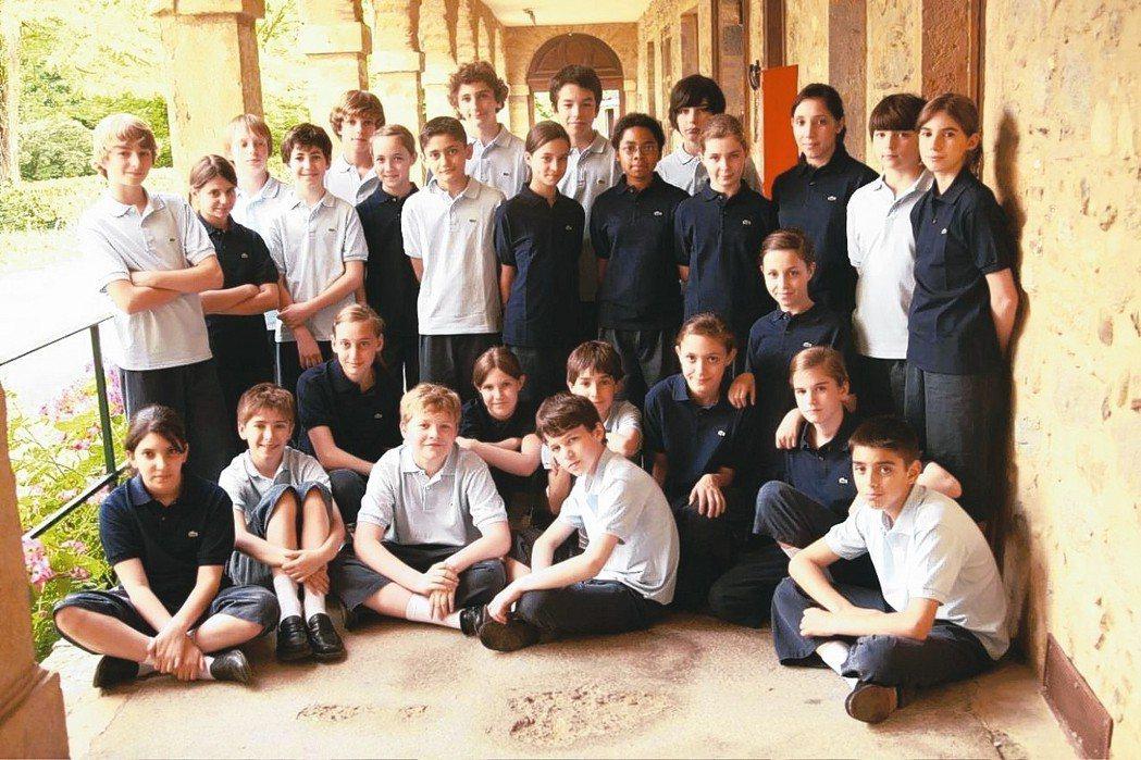 法國聖馬克兒童合唱團。 圖/傳大藝術提供