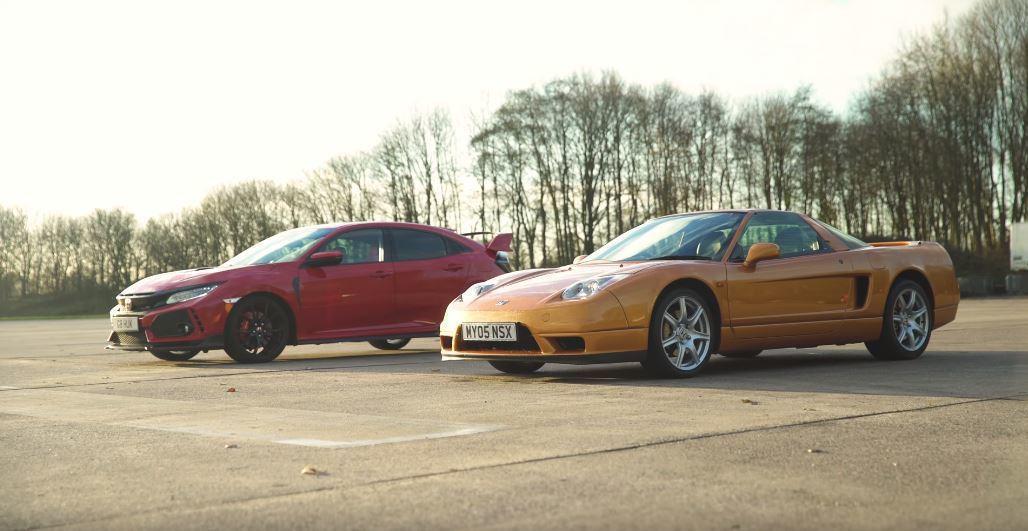 新舊Honda性能車系,VTEC經典對決。 截自carwow影片