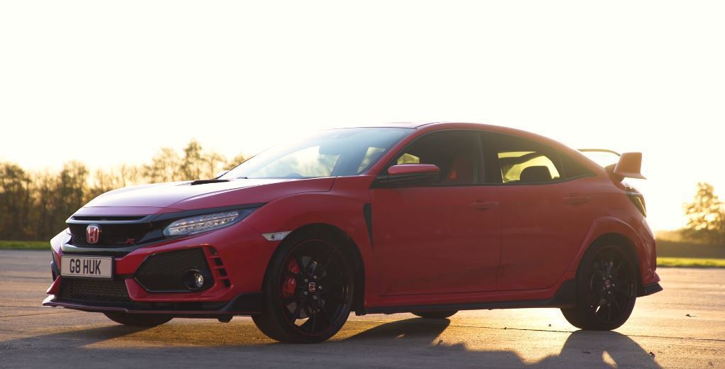 Honda FK8 Civic Type R。 截自carwow影片