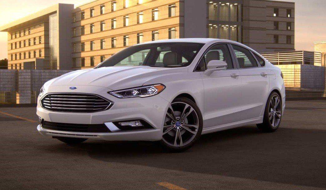 Ford Fusion(即國內販售的Mondeo)。 摘自Ford